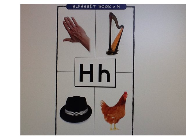 Letter H by Bethany Hentgen