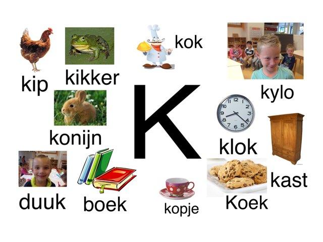 Letter K by Miranda Dijkstra