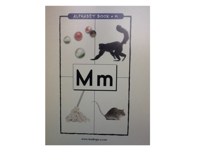 Letter M by Bethany Hentgen