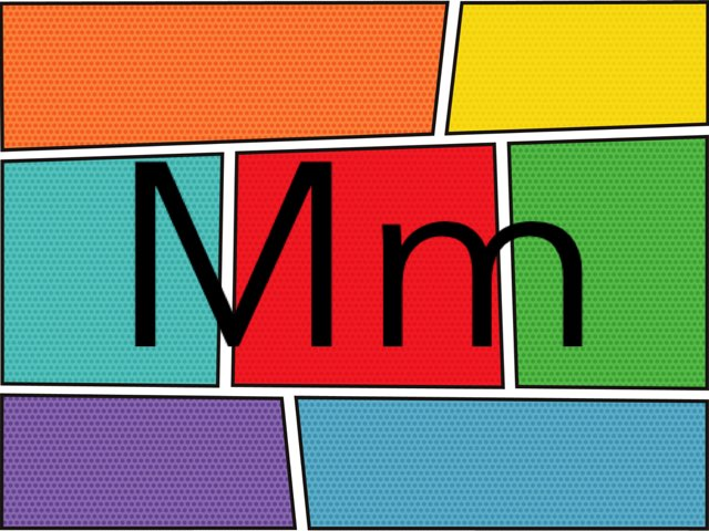 Letter Mm by Chelsea James