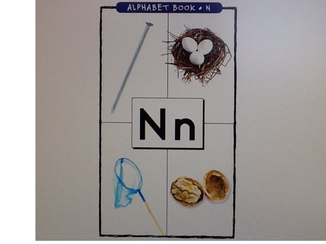 Letter N by Bethany Hentgen