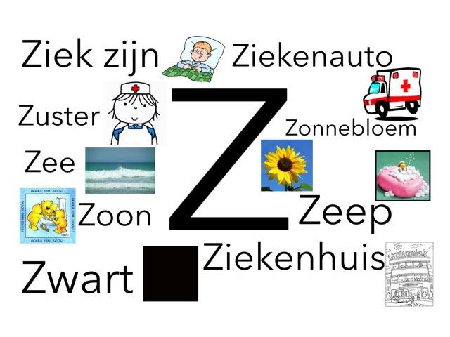Letter Z by Miranda Dijkstra