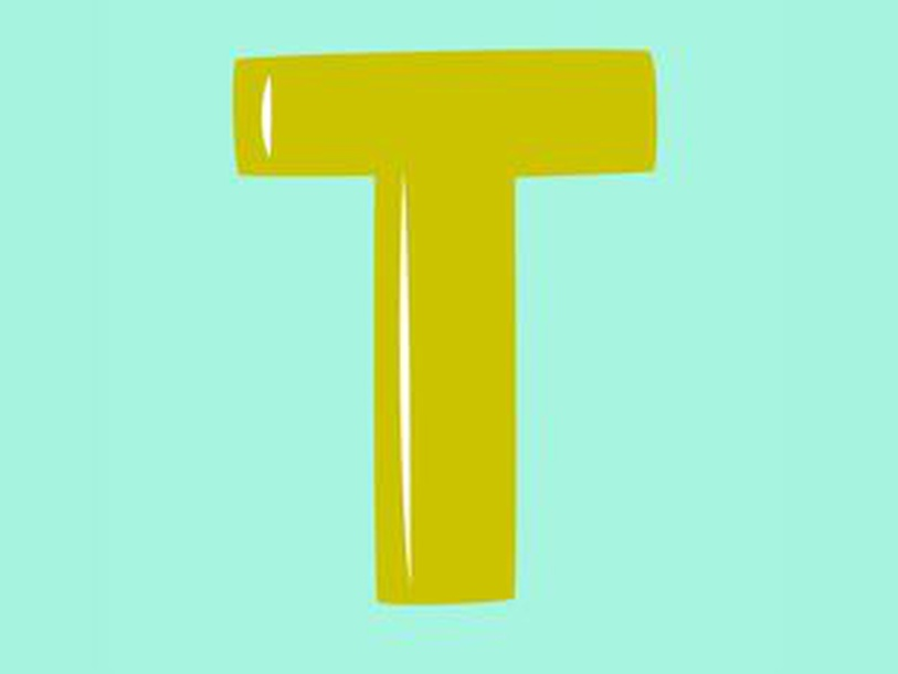 Letter T by Chiew Karin