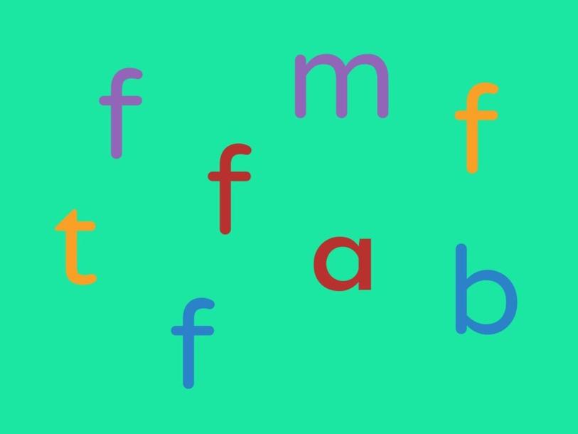 Letter f by Jacqueline Johnson