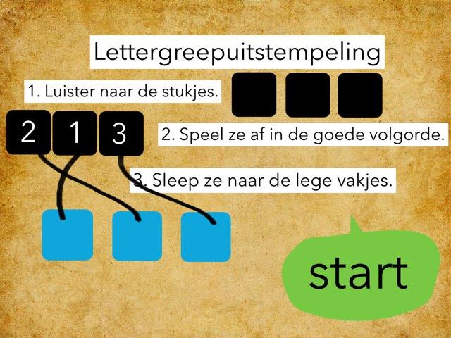 Lettergreepuitstempelen2 by Annabel Barbé