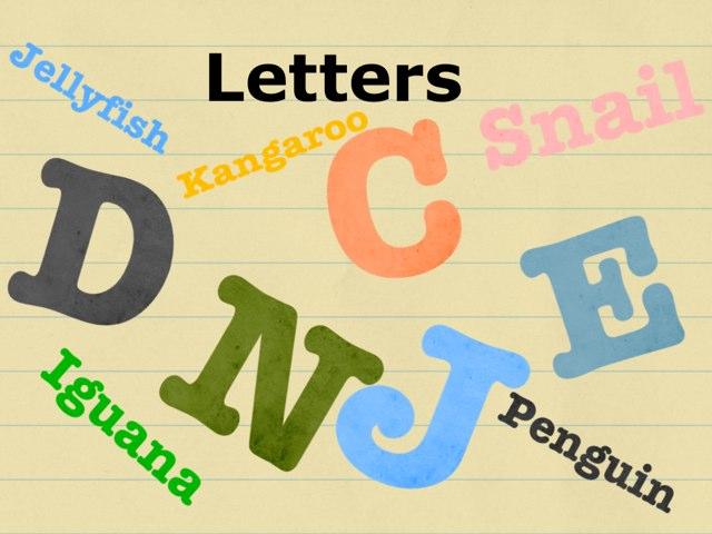 Letters Quiz by Naya Barakat
