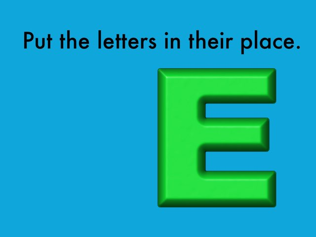 Letters T And E by Ann Leverette