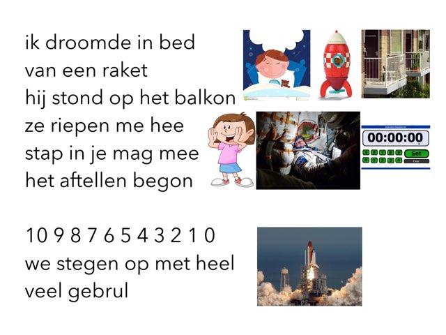 Lied Raket by Miranda Dijkstra