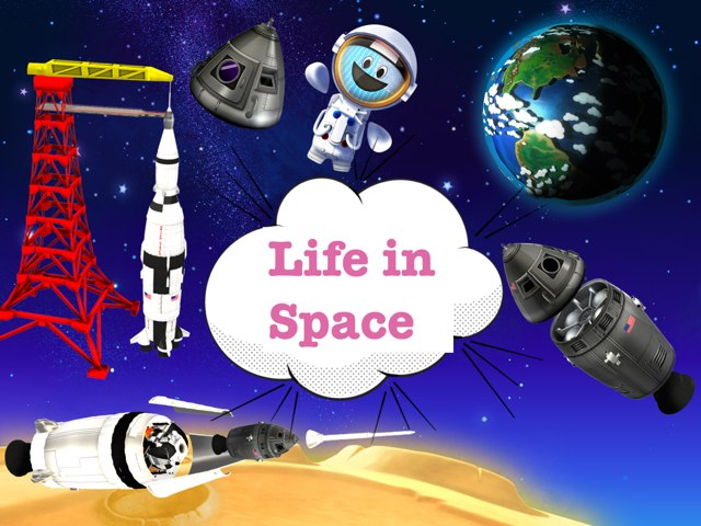 Life In Space by Semsema 3omar