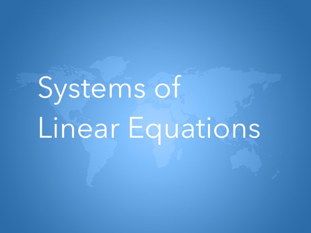 Linear Equations by Mercedez roman