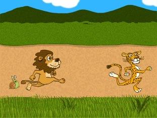 Lion Chase by Edventure More -  Conrad Guevara