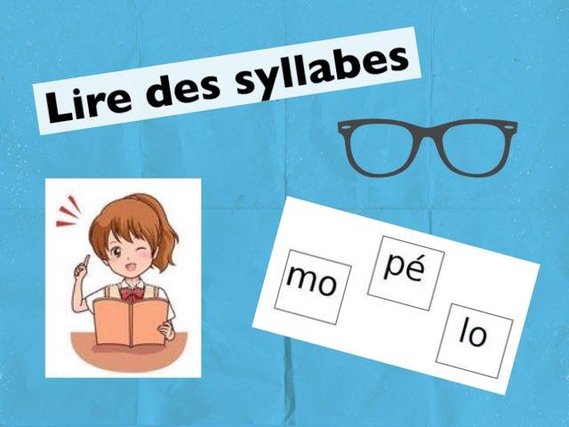 Lire Des Syllabes by Seve Haudebourg