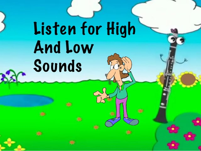 Listen For High and Low Sounds by A. DePasquale