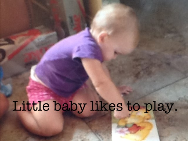 Little Baby Likes to Play by MaxandMichele Kuzian