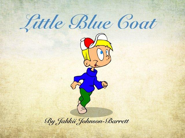 Little Blue Coat by Melissa Piazza