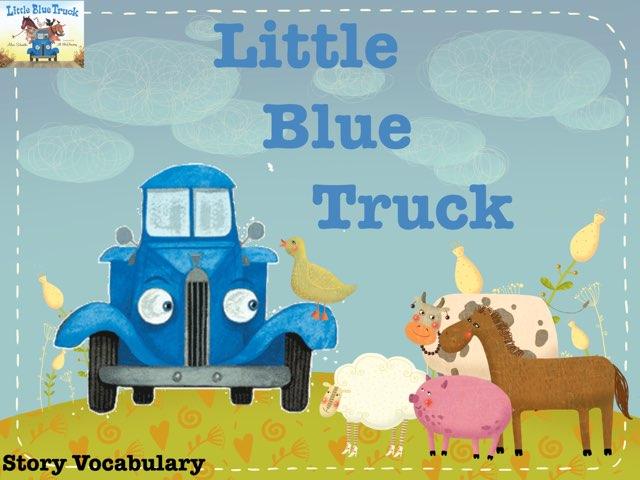 Little Blue Truck Vocabulary  by Erica Lynn