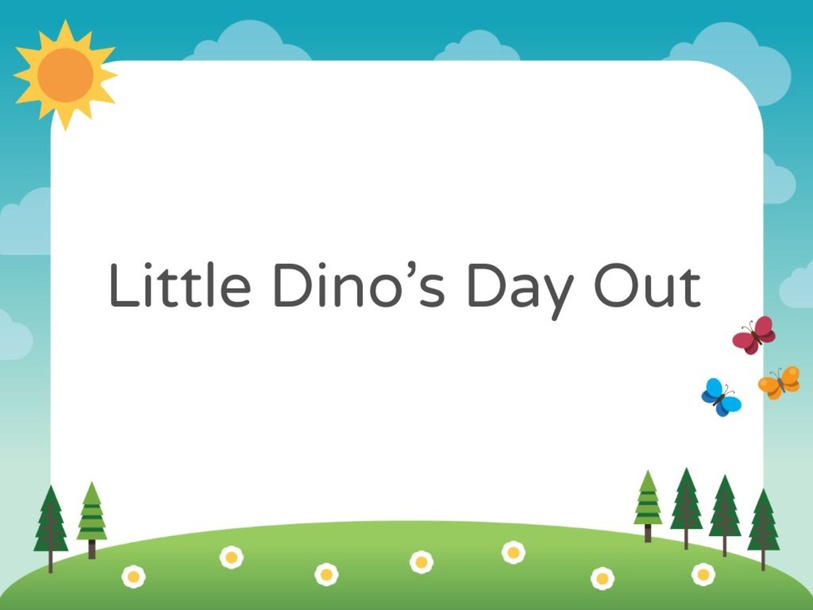 Little Dino's Day Out by Vantage KG