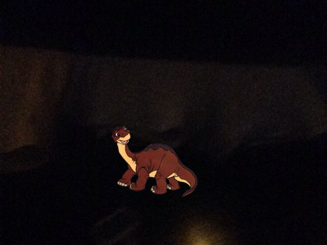 Littlefoot Sighting by George awrahim