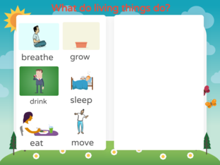 Living and Nonliving by Kate Dickson