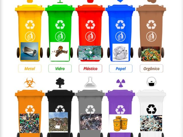 Lixo Na Lixeira Certa by Robótica Dante