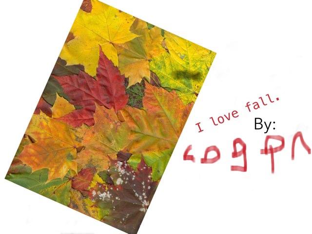 Logan's Fall Book by Melissa Bennici Caye