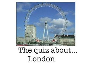 London quiz by Summer School