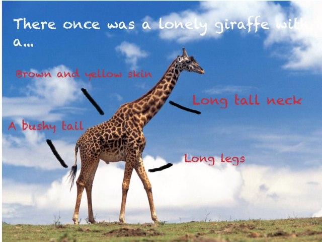 Lonely Giraffe by Kathryn Taylor