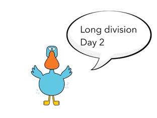 Long Division Lesson 2 by Theresa Dengler