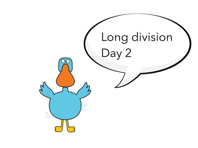 Long Division Lesson 2 by Theresa Dengler