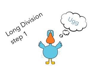 Long Division Step 1 by Theresa Dengler
