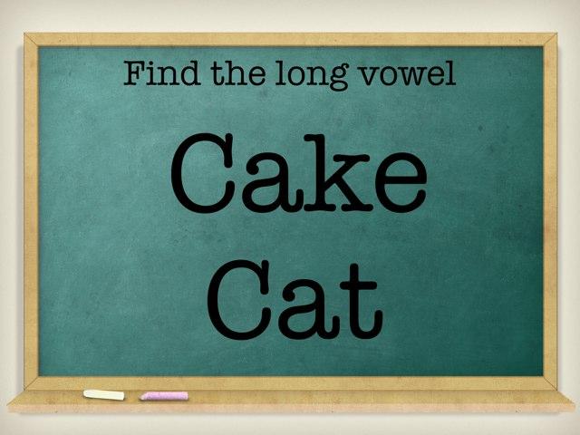 Long Vowels by Nicole Saia