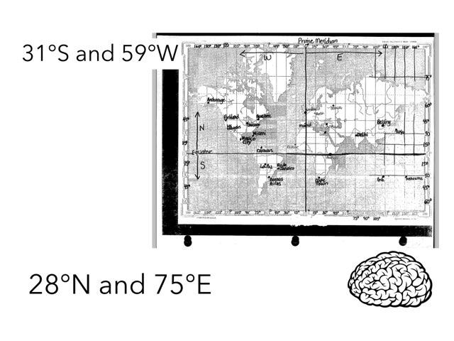 Longitude And latitude Quiz by Diane Romero