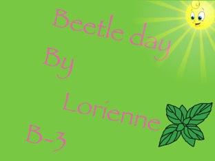 Lorienne's Beetle Project by Vv Henneberg