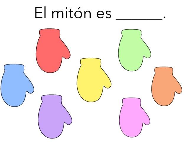 Los Colores De Los Mitones by Emily Urquizo
