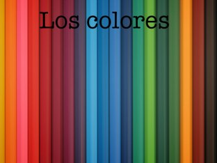 Los Colores by Alicia Romero