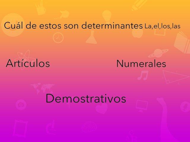 Los Determinants La El Los Las by Angel Sánchez Gastalver