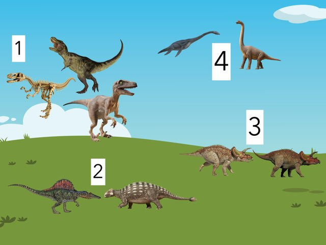 Los Dinosaurio  by Jimena García Varela