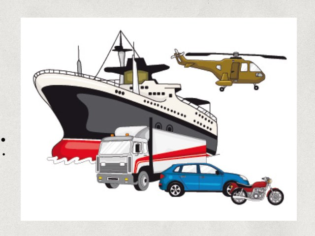 Los Medios De Transportes by Francisca Murillo