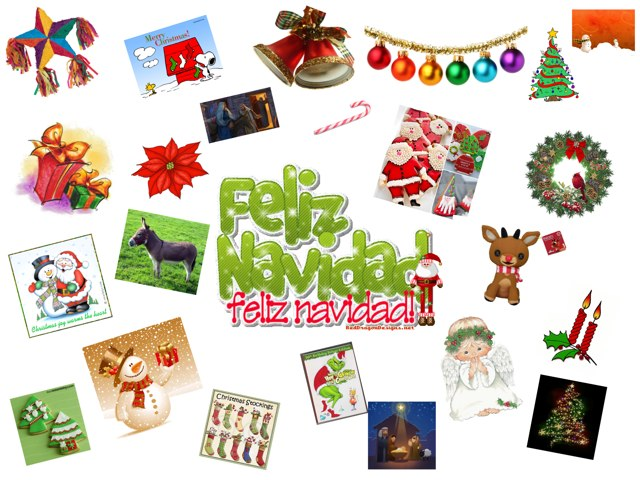 Los Objetos De La Navidad by Jodi Craft