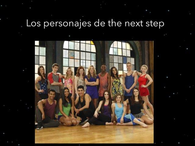 Los Personajes De The Next Step by Alba Calvo Simo