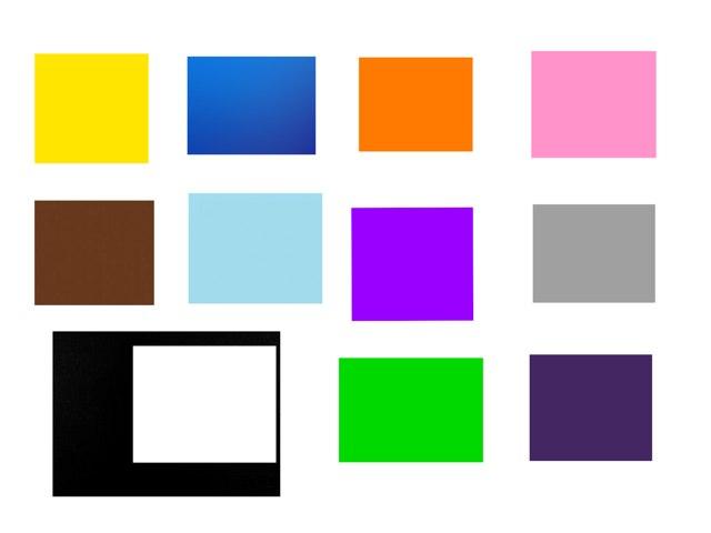 Los colores by Monica Merlo