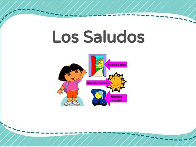 Los Saludos by Carmen Gonzalez