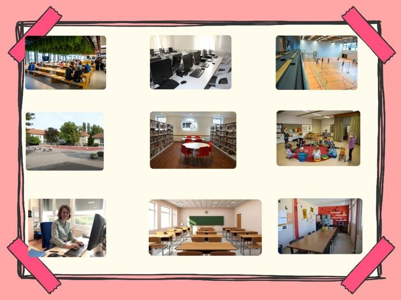 Los lugares del colegio by Wa Ca