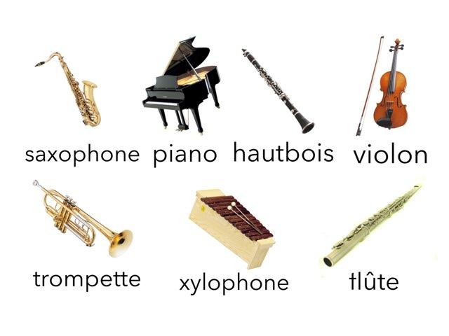 Loto des instruments de musique by Laure Rmn