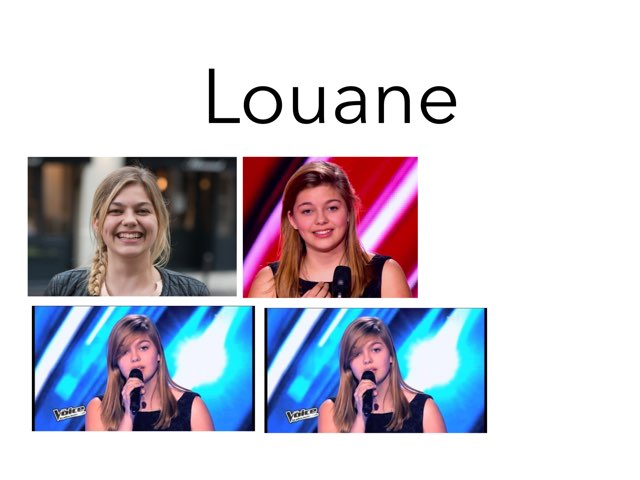 Louane by Marion Durand