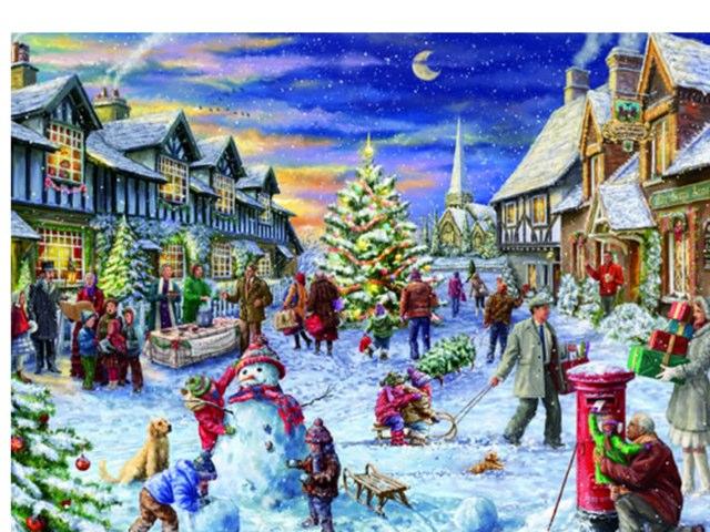 Luca's Winter Scene by Mr Parkinson