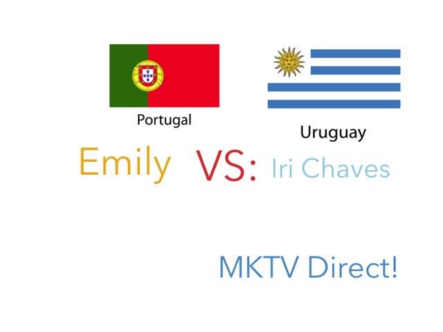 MKTV Direct - Emily VS Irina Chaves!  by Pipoca Laroca