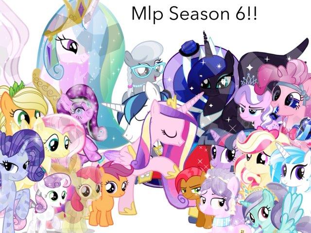 MLP SEASON 6 by Princess Twilight Sparkle