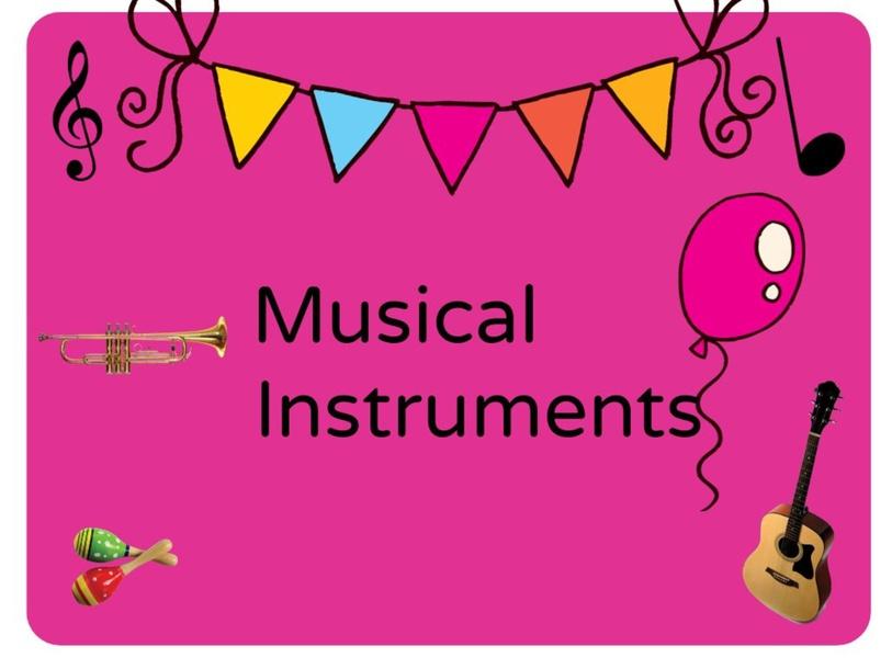 MUSICAL INSTRUEMNT QUIZ - 4 YEARS by VIR ZEG