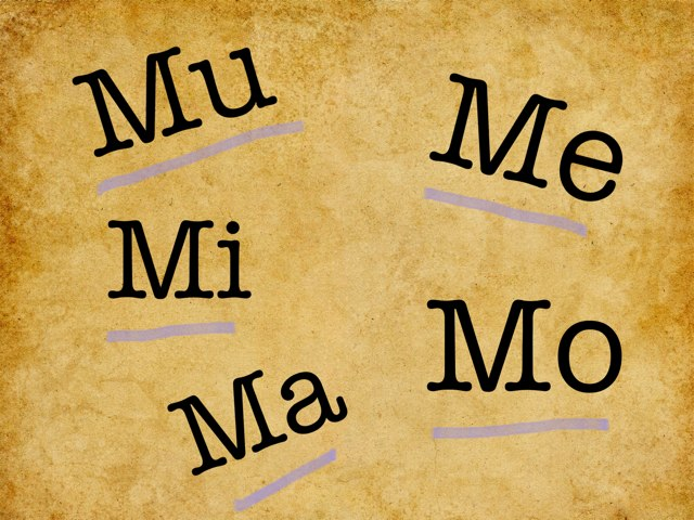 Ma Me Mi Mo Mu by Pao Mancera